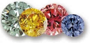 Diamanti sintetici colorati